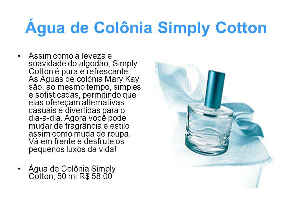 Água de Colônia Simply Cotton