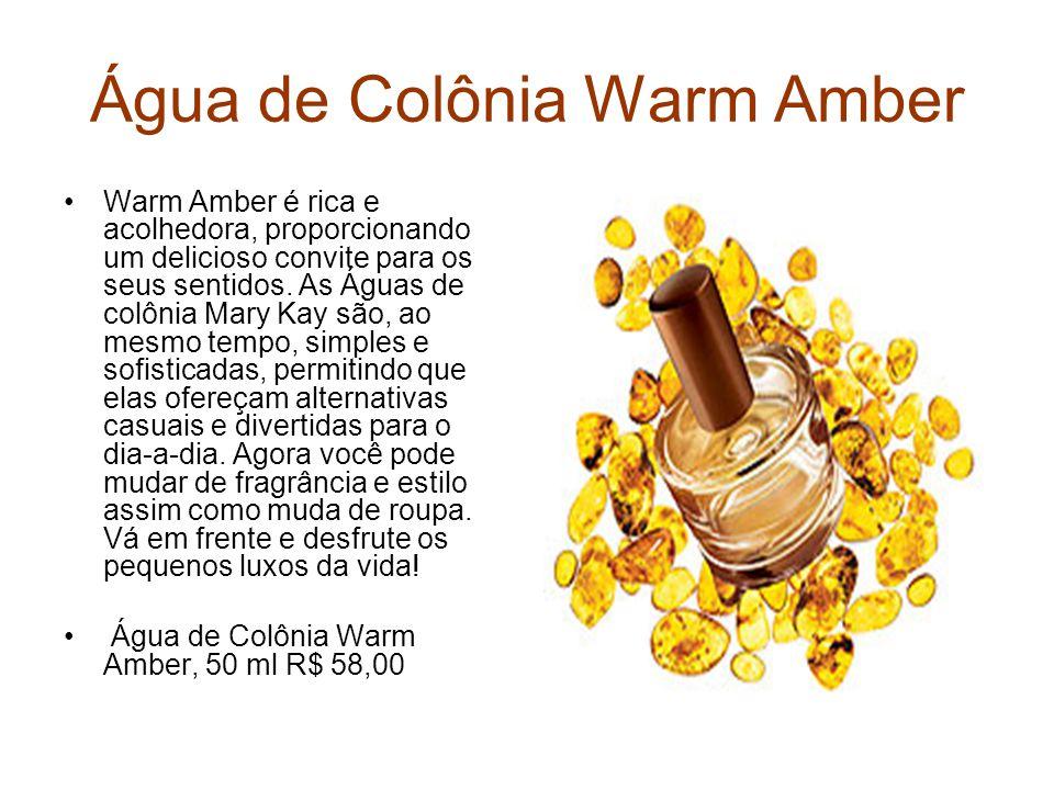 Água de Colônia Warm Amber