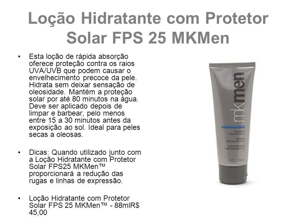 Loção Hidratante com Protetor Solar FPS 25 MKMen