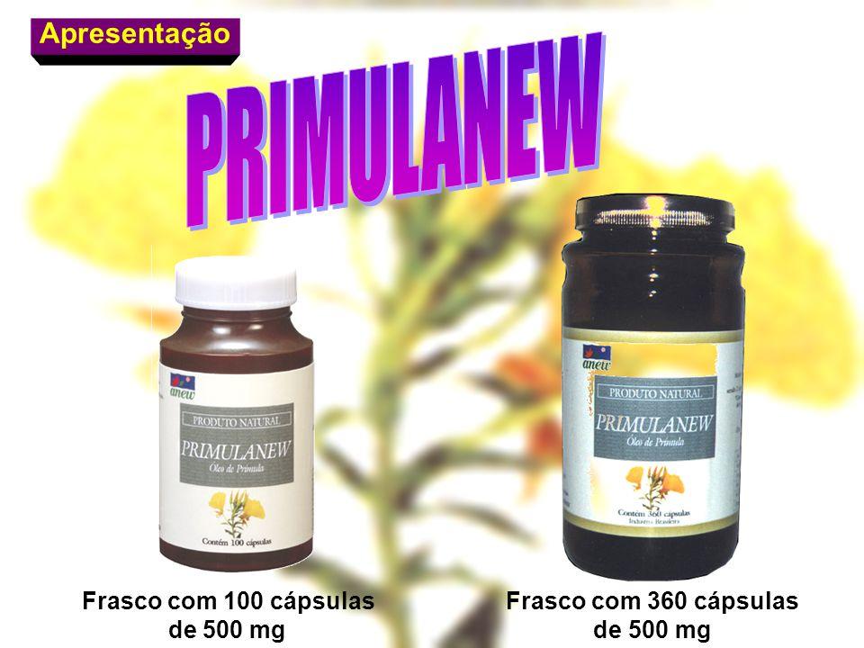 PRIMULANEW Apresentação Frasco com 360 cápsulas de 500 mg