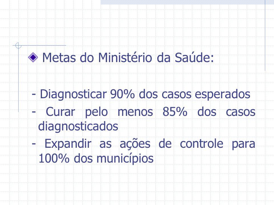 Metas do Ministério da Saúde: