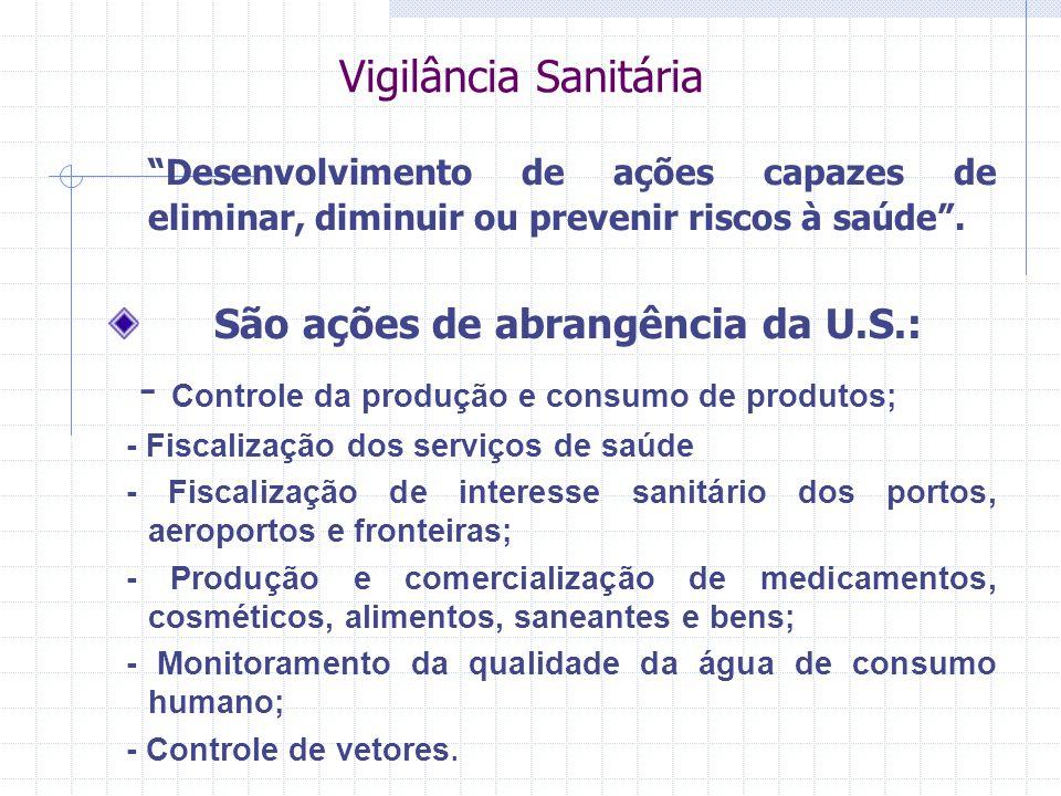 - Controle da produção e consumo de produtos;