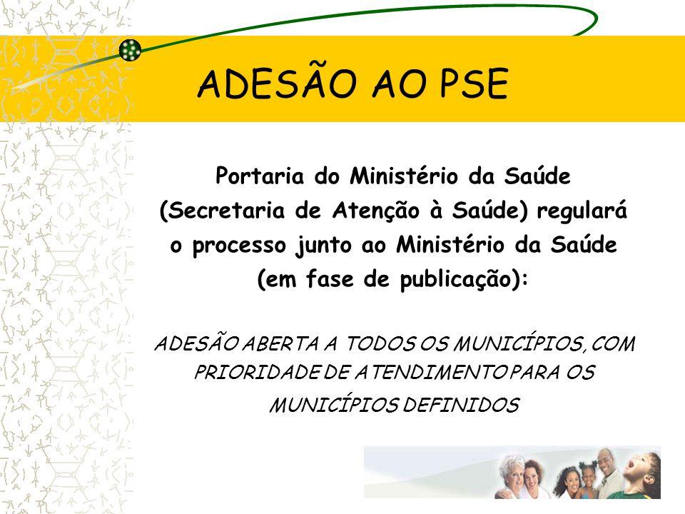 ADESÃO AO PSE