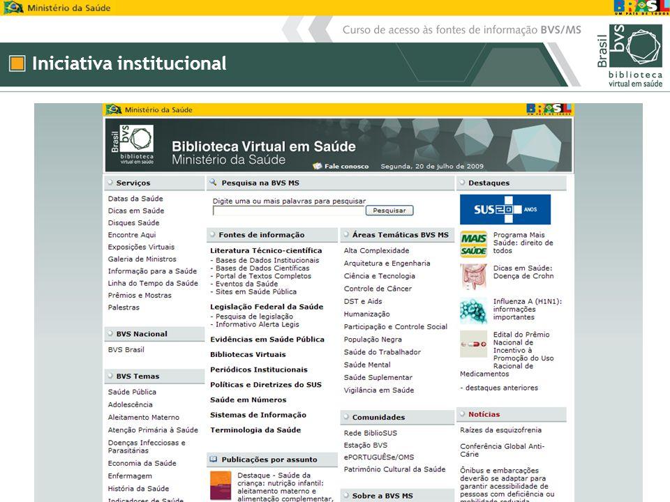 Iniciativa institucional