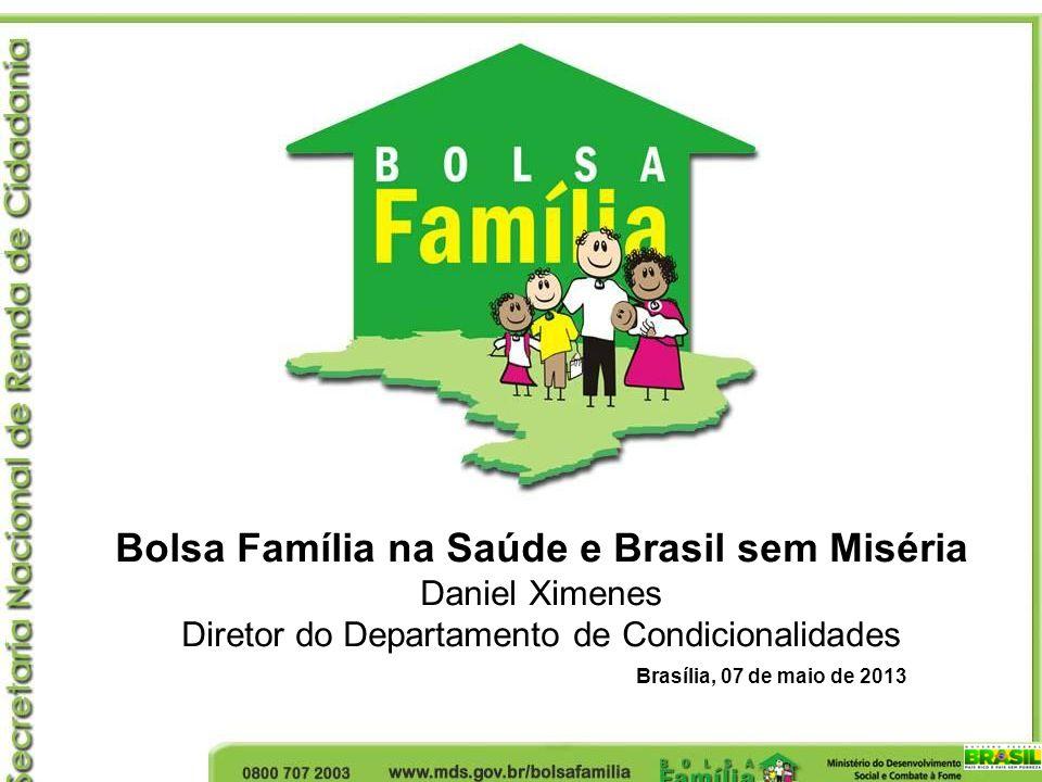Bolsa Família na Saúde e Brasil sem Miséria