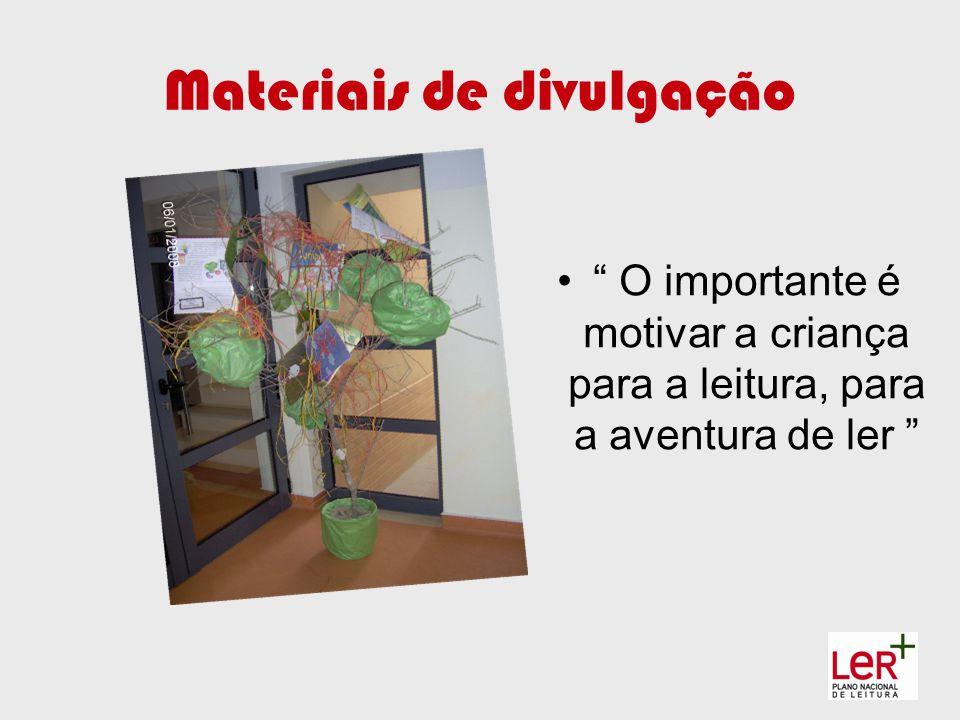 Materiais de divulgação