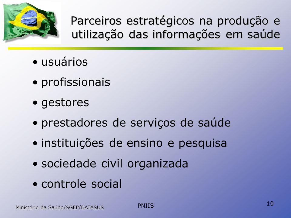 prestadores de serviços de saúde instituições de ensino e pesquisa
