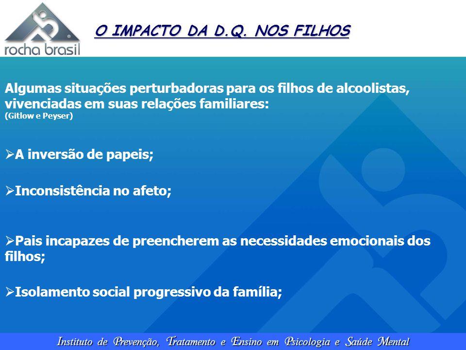O IMPACTO DA D.Q. NOS FILHOS