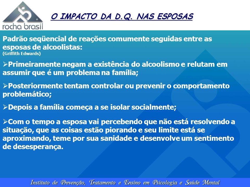 O IMPACTO DA D.Q. NAS ESPOSAS