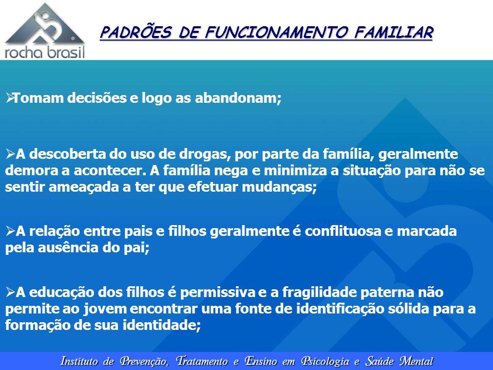 PADRÕES DE FUNCIONAMENTO FAMILIAR