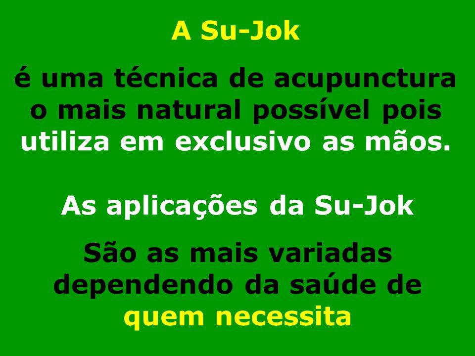 As aplicações da Su-Jok