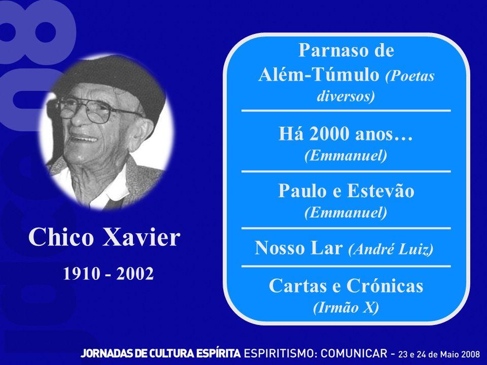 Chico Xavier Parnaso de Além-Túmulo (Poetas diversos)