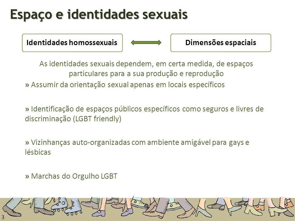 Espaço e identidades sexuais