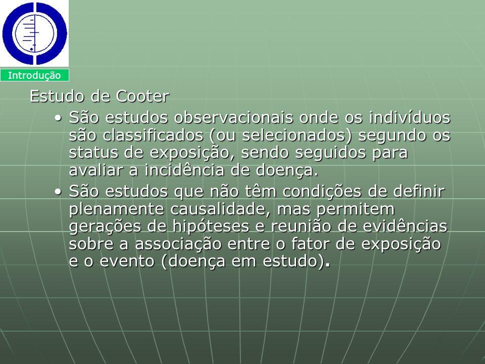Introdução Estudo de Cooter.
