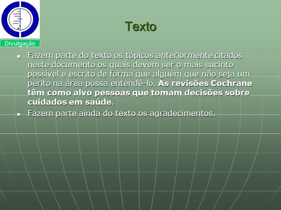 Texto Divulgação.