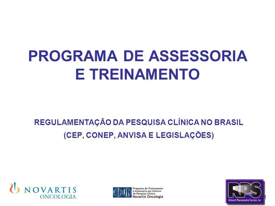 PROGRAMA DE ASSESSORIA E TREINAMENTO