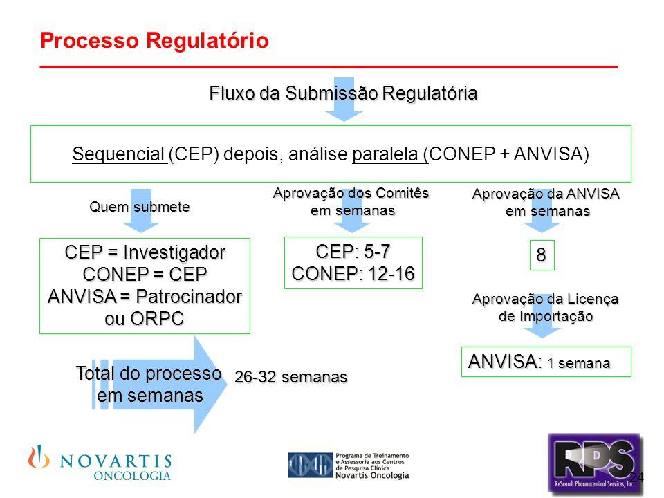 Processo Regulatório ________________________________________