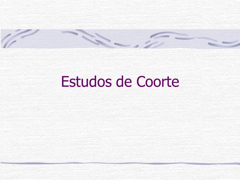 Estudos de Coorte