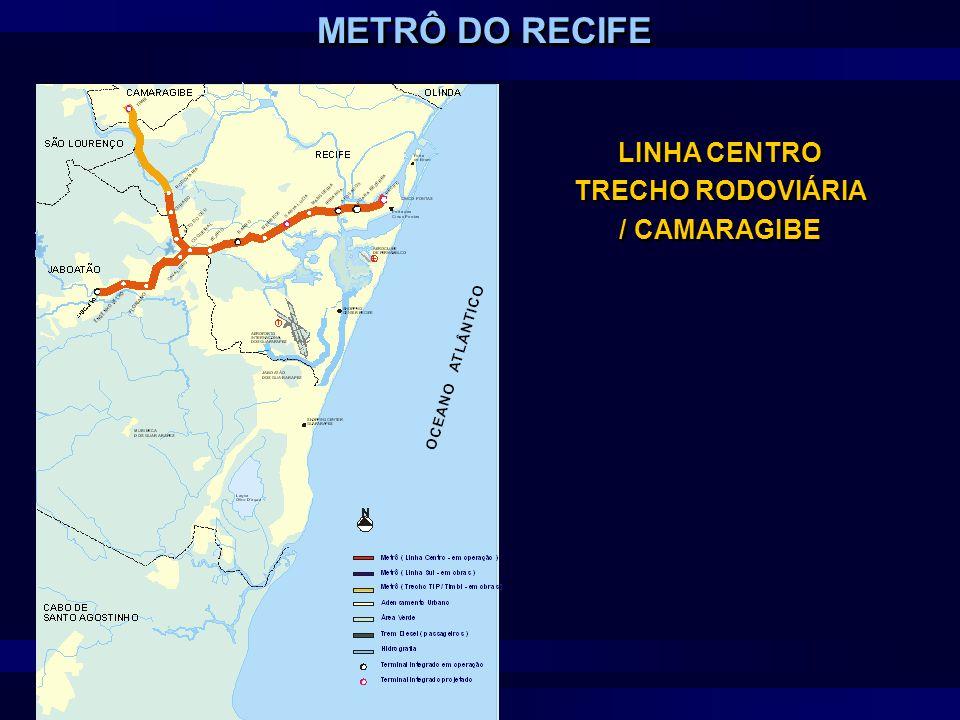 LINHA CENTRO TRECHO RODOVIÁRIA / CAMARAGIBE
