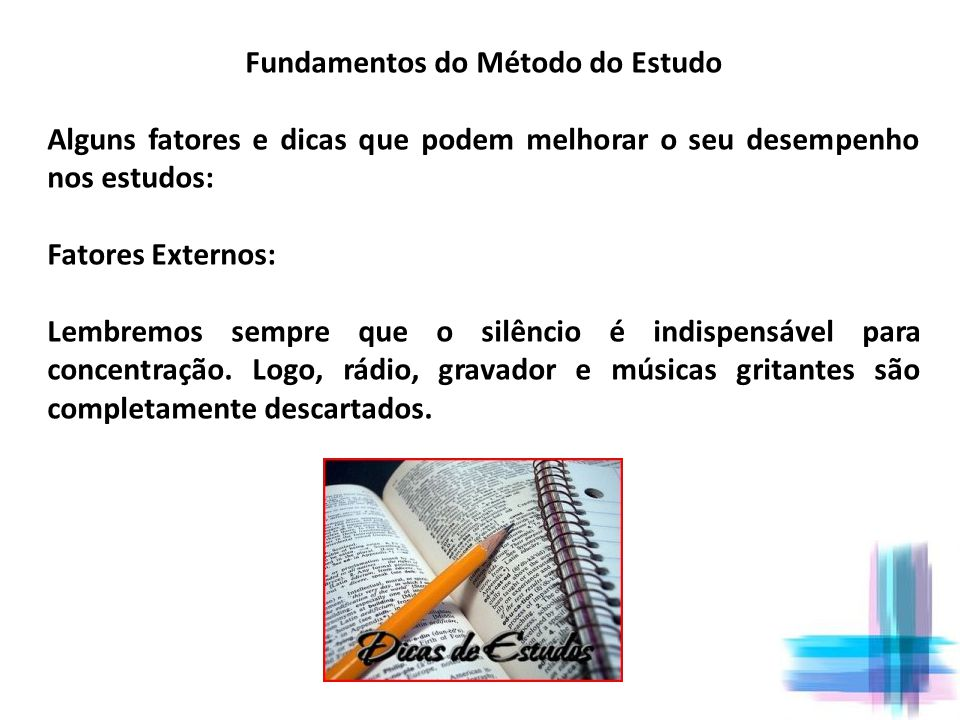 Fundamentos do Método do Estudo