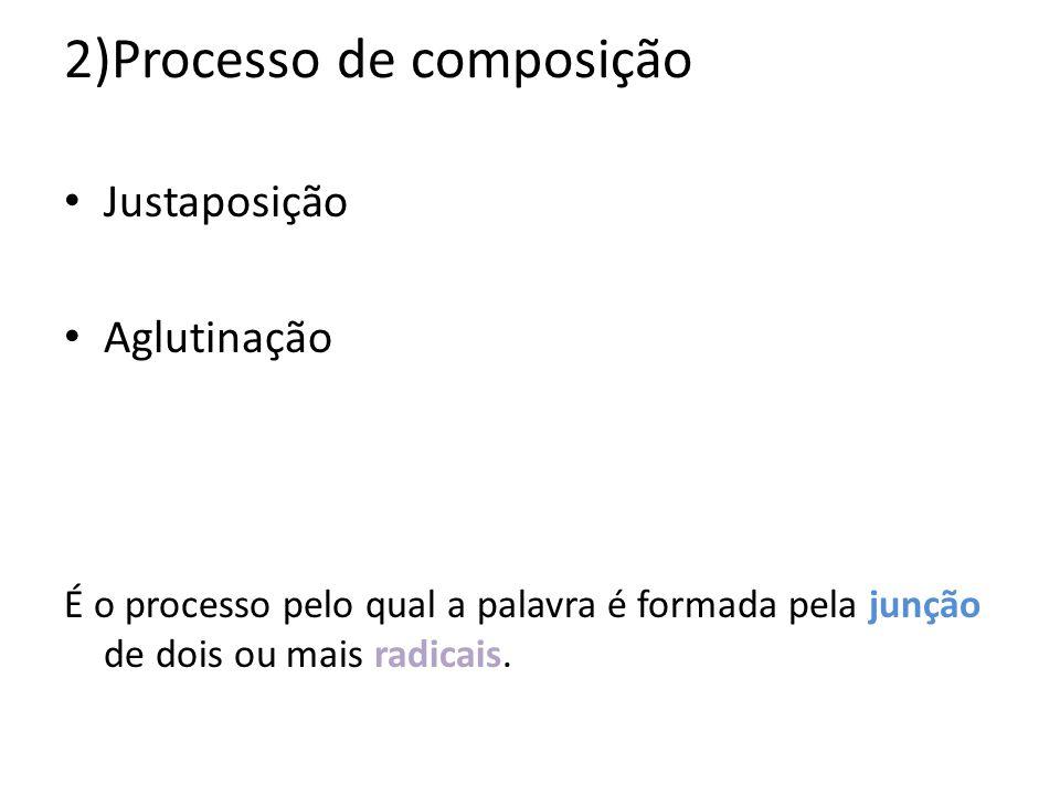 2)Processo de composição