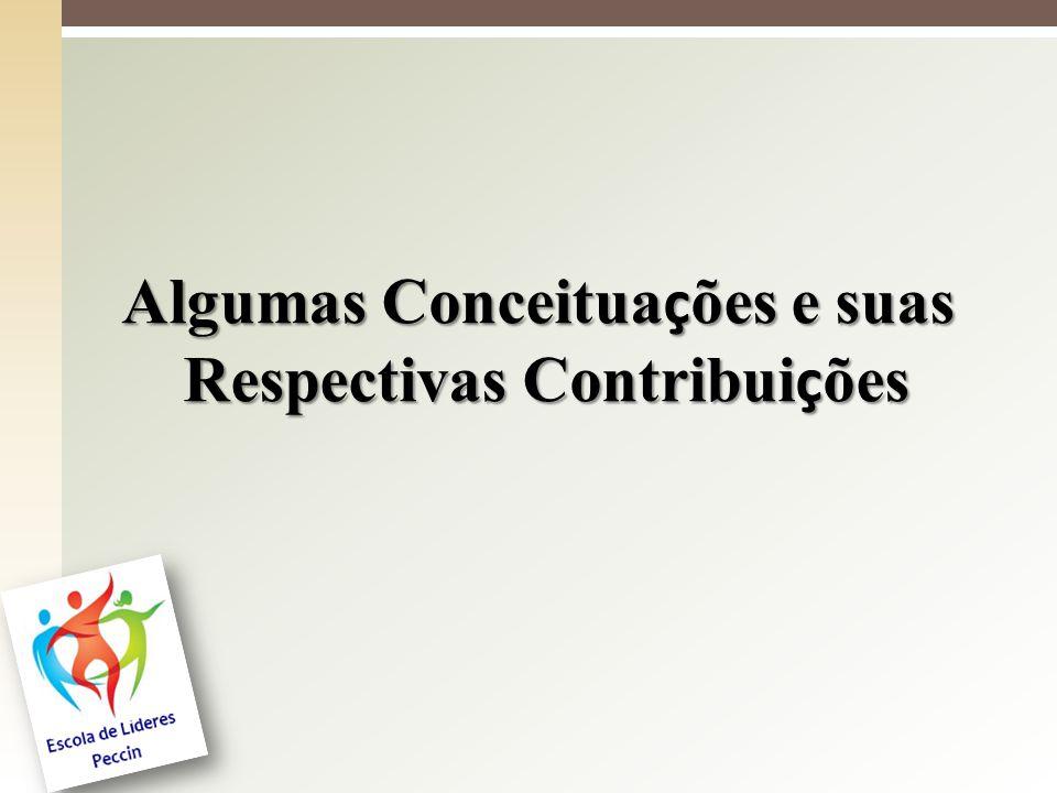 Algumas Conceituações e suas Respectivas Contribuições