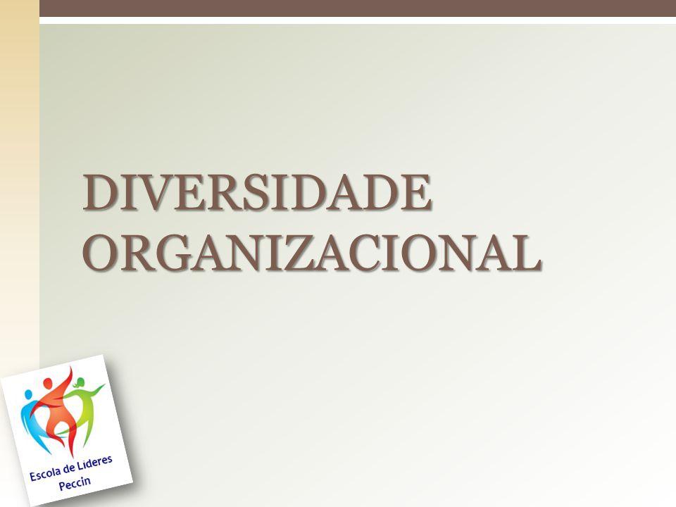 DIVERSIDADE ORGANIZACIONAL