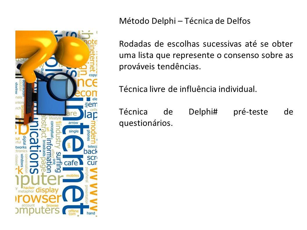Método Delphi – Técnica de Delfos