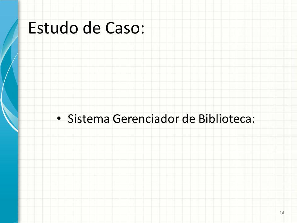 Sistema Gerenciador de Biblioteca: