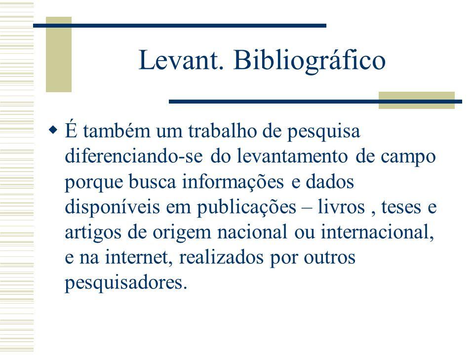 Levant. Bibliográfico