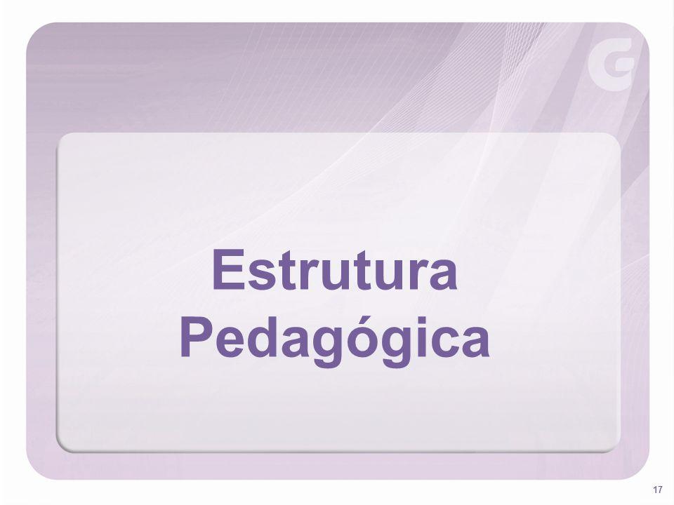 Estrutura Pedagógica