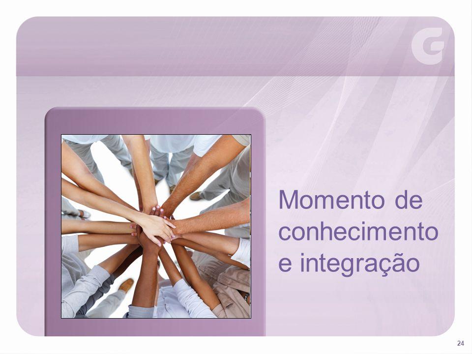 Momento de conhecimento e integração