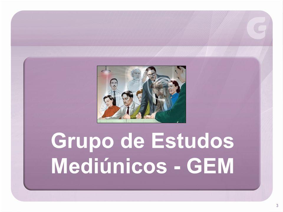 Grupo de Estudos Mediúnicos - GEM