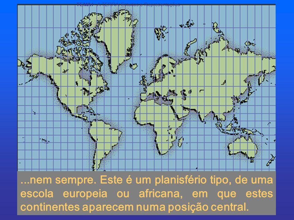 TEMA I - A TERRA: Estudos e Representações