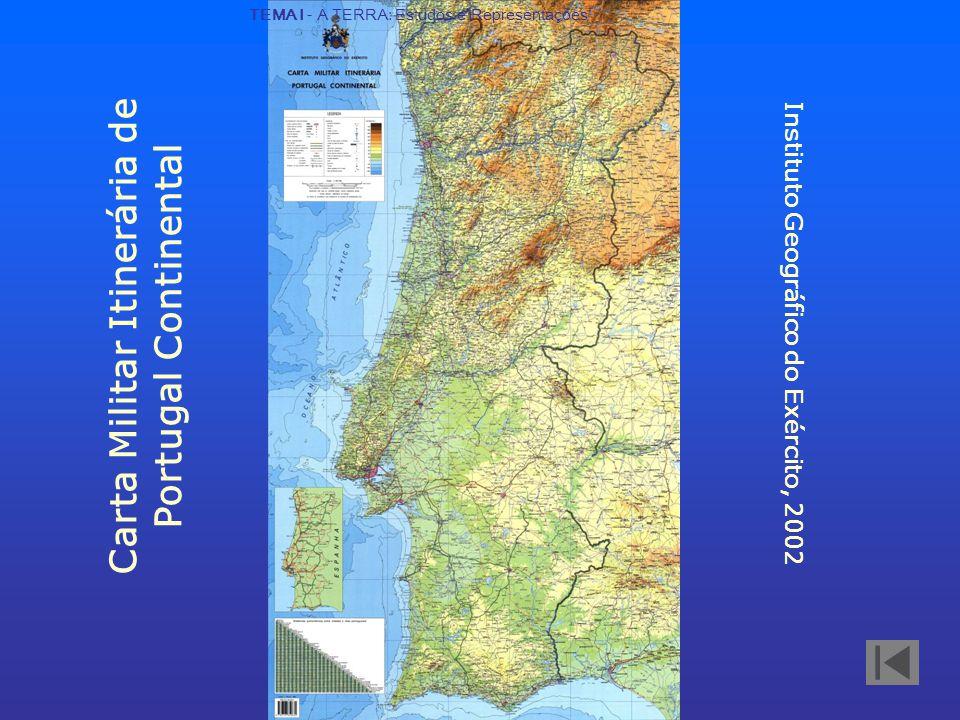Carta Militar Itinerária de Portugal Continental