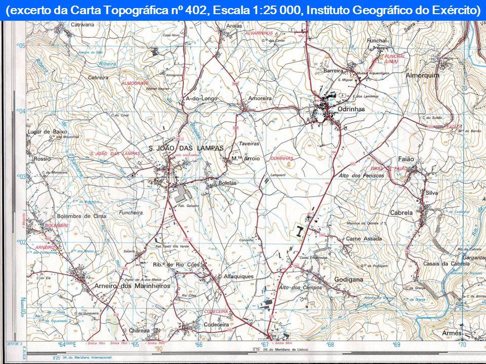 Carta ou Mapa Topográfico Representação da Terra