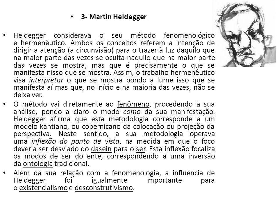 3- Martin Heidegger
