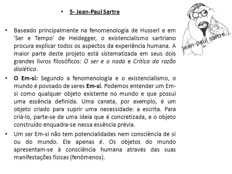 5- Jean-Paul Sartre