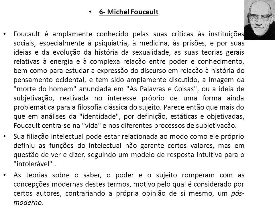 6- Michel Foucault