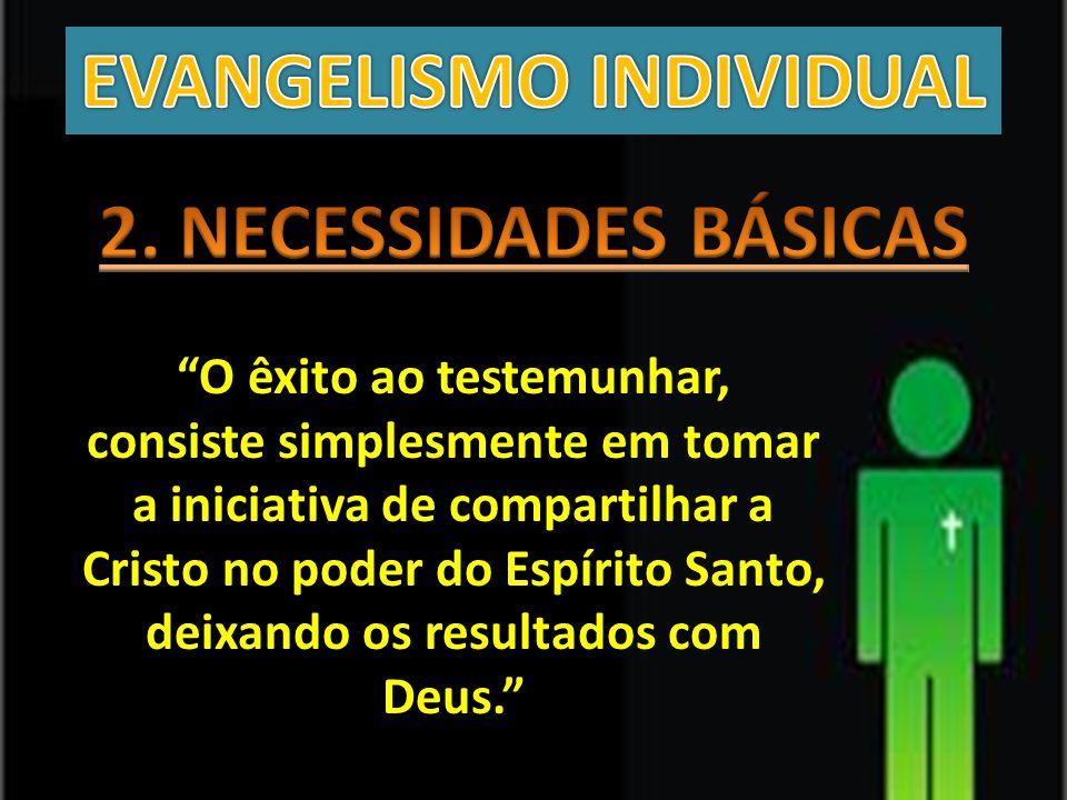 EVANGELISMO INDIVIDUAL