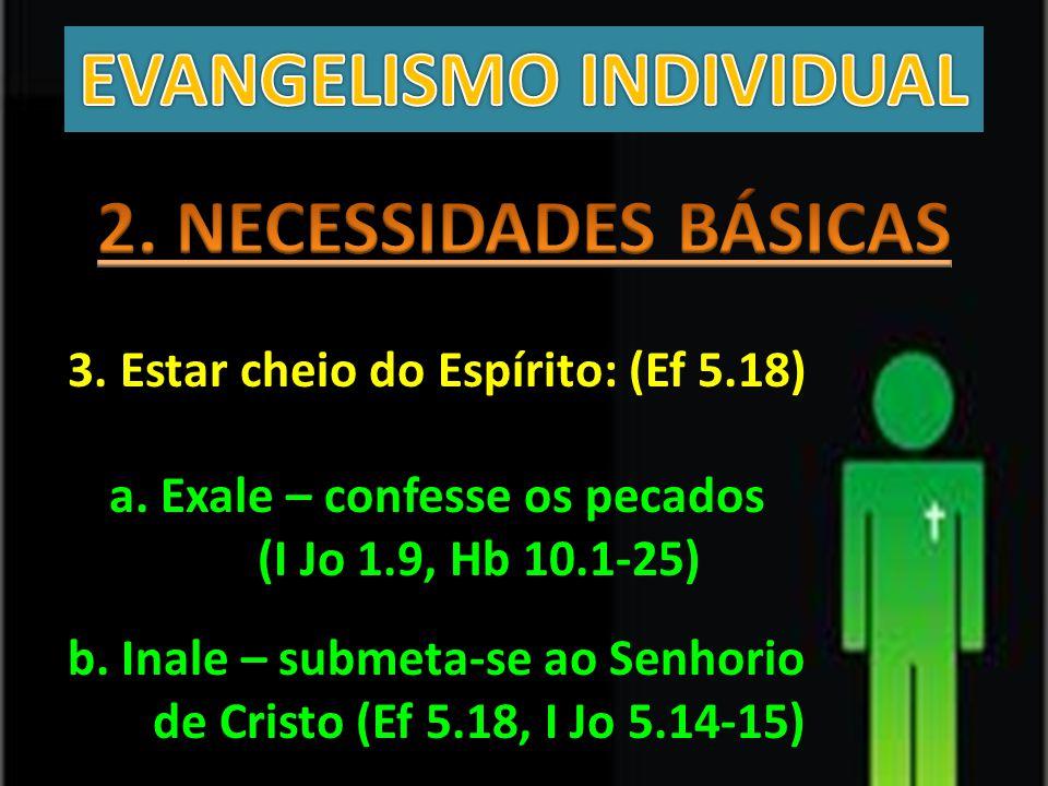 EVANGELISMO INDIVIDUAL 2. NECESSIDADES BÁSICAS
