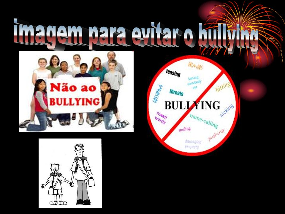 imagem para evitar o bullying