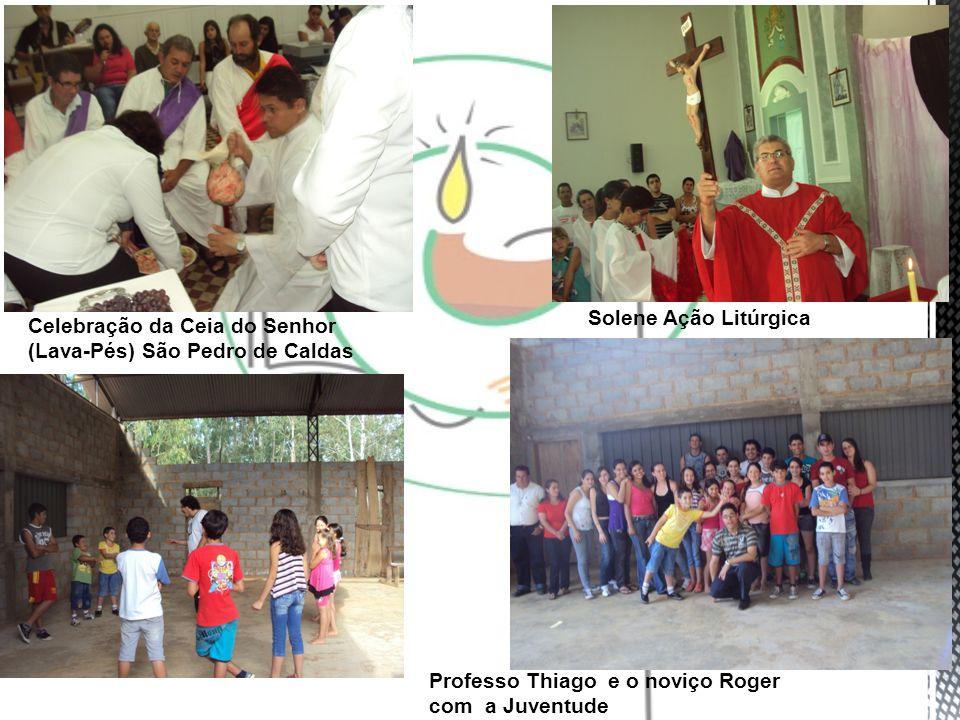 Solene Ação Litúrgica Celebração da Ceia do Senhor (Lava-Pés) São Pedro de Caldas.