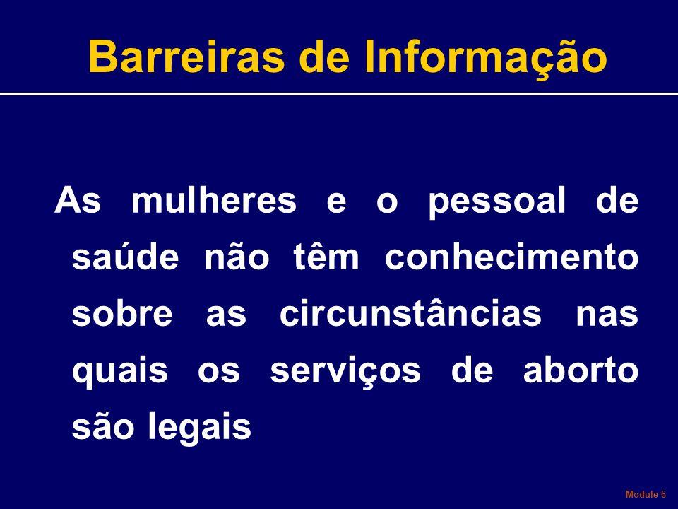Barreiras de Informação