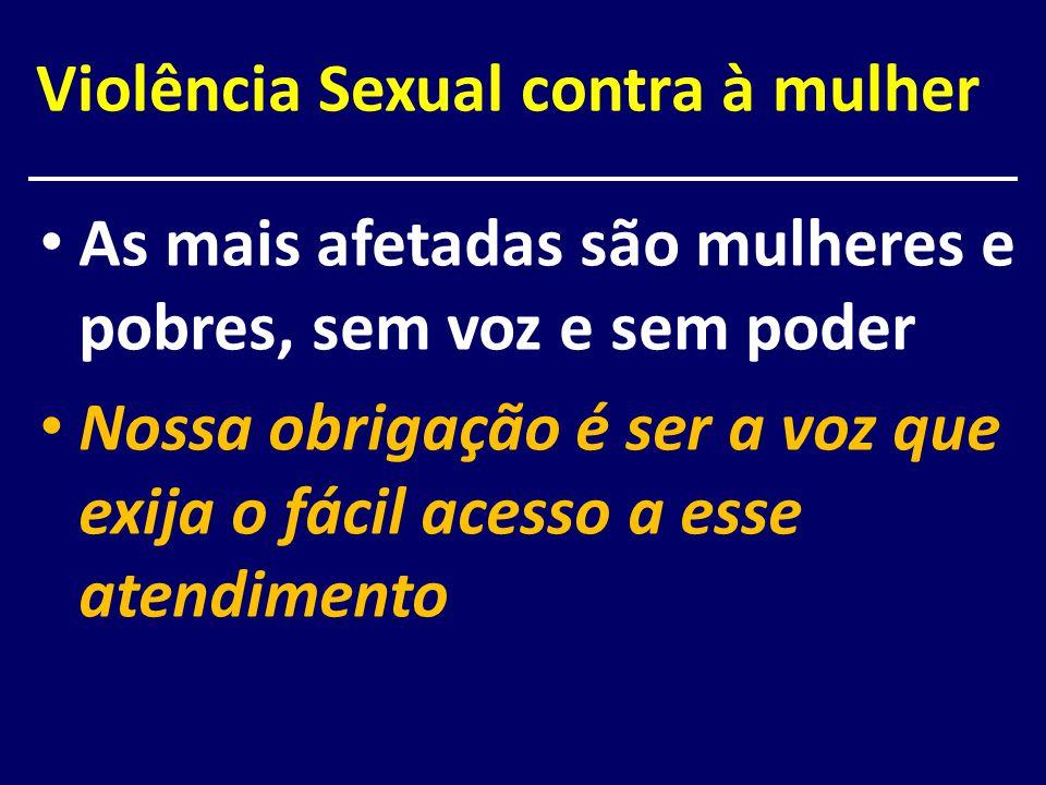 Violência Sexual contra à mulher