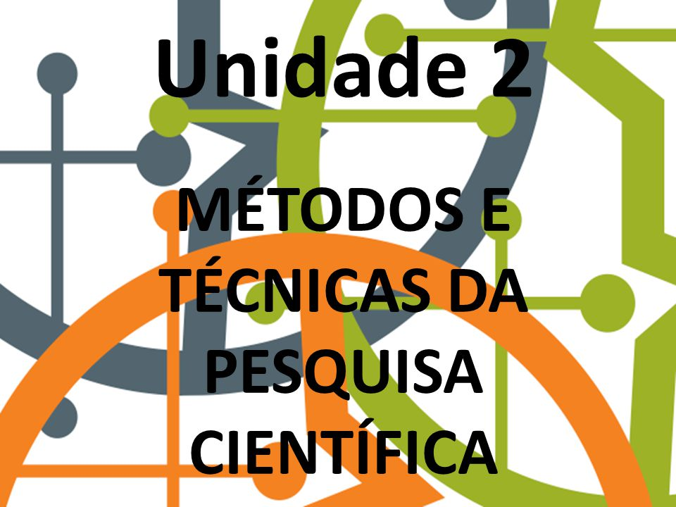 Métodos e técnicas da pesquisa científica