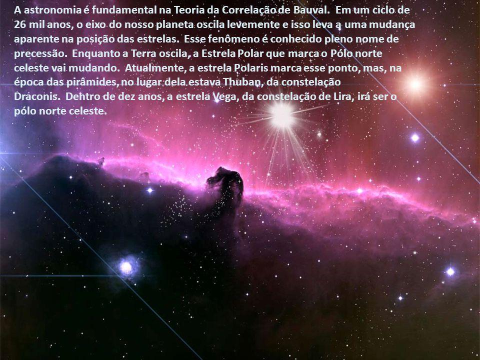 A astronomia é fundamental na Teoria da Correlação de Bauval