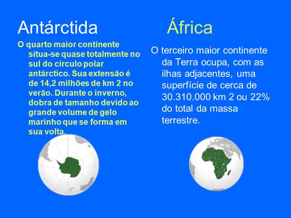 Antárctida África