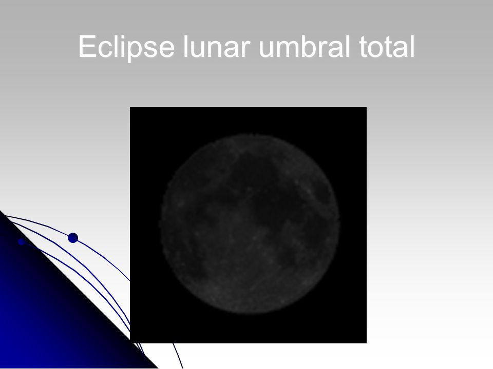 Eclipse lunar umbral total