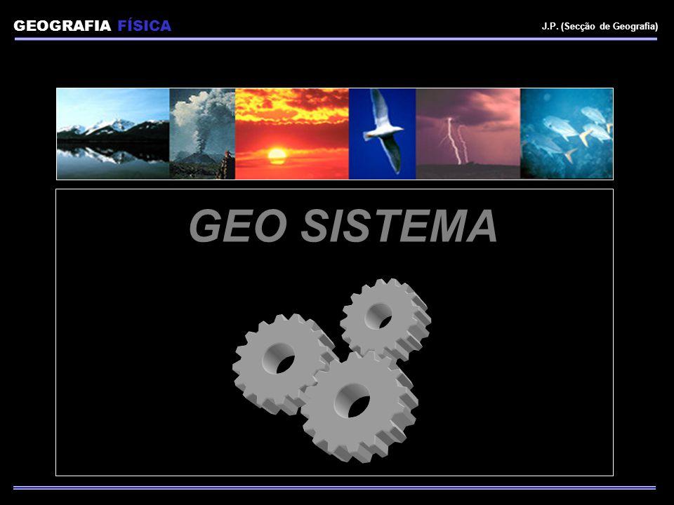 GEOGRAFIA FÍSICA J.P. (Secção de Geografia) GEO SISTEMA